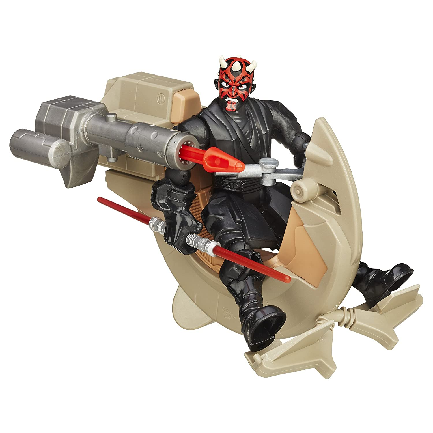 Star Wars Hero Mashers Sith Speeder and Darth Maul B3832AS0