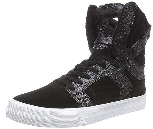 Supra SupraSKYTOP - Zapatillas Unisex Adulto, Color Gris, Talla 45 UE amazon-shoes Zapatillas skate