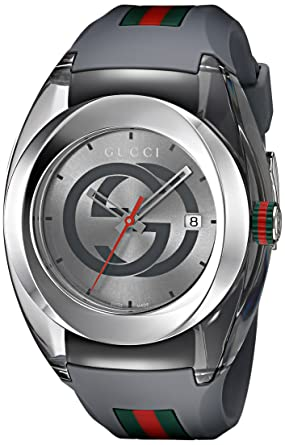 8930f0a49ea Image Unavailable. Image not available for. Color  Gucci Swiss Quartz  Stainless Steel ...