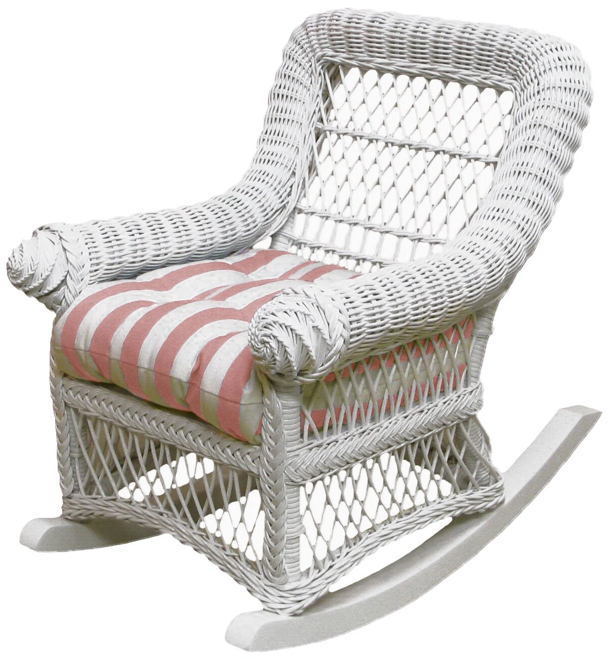 Spice Islands Child's Rocker, White by Spice Islands