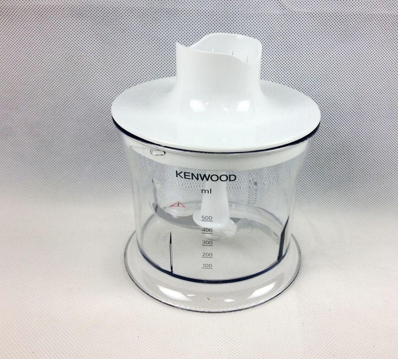 Kenwood - Set de recipiente con tapa y hélice de repuesto para batidoras de inmersión Triblade HB, HBM, HB724,HB720,HB710y HDP 30,40,304y 408