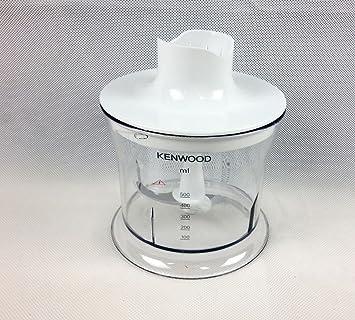 Kenwood - Set de recipiente con tapa y hélice de repuesto para batidoras de