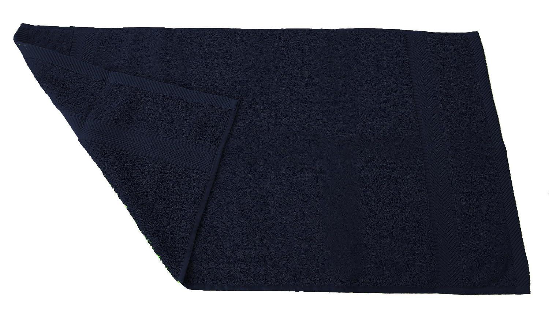 Navy bluee Hand Towels  Qty 6 robesale Terry Towels, Beach Towel, orange,