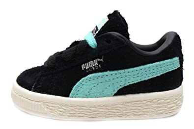 c79d7bd8c0922 PUMA Suede Diamond Toddler Kids in Black Diamond Blue Silver by
