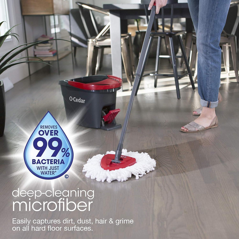 Microfiber Spin Mop & Bucket Floor Cleaner
