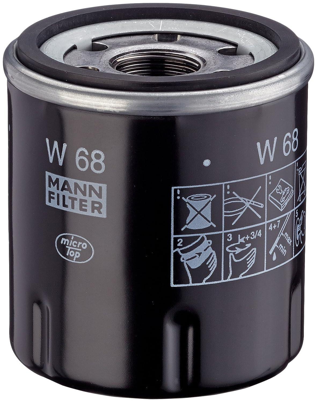 Mann Filter W68 Ö lfilter MANN & HUMMEL GMBH