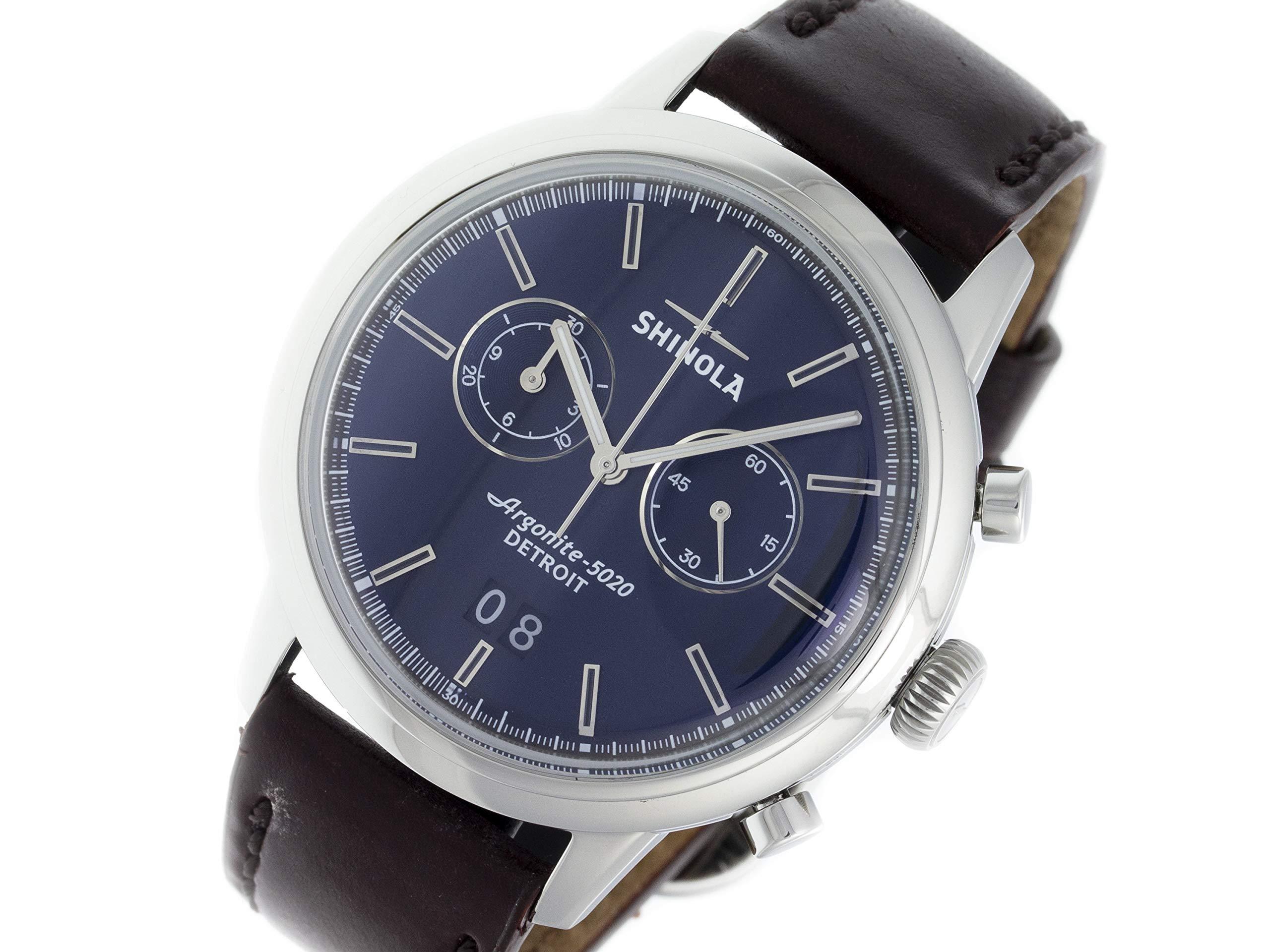 Shinola The Bedrock Quartz Male Watch 20065290 (Certified Pre-Owned)