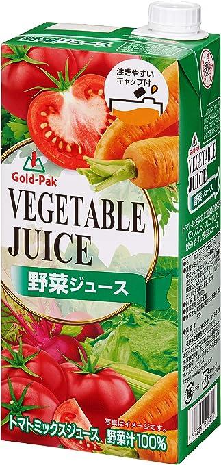 ゴールドパック 野菜ジュースEX 1L ×6本