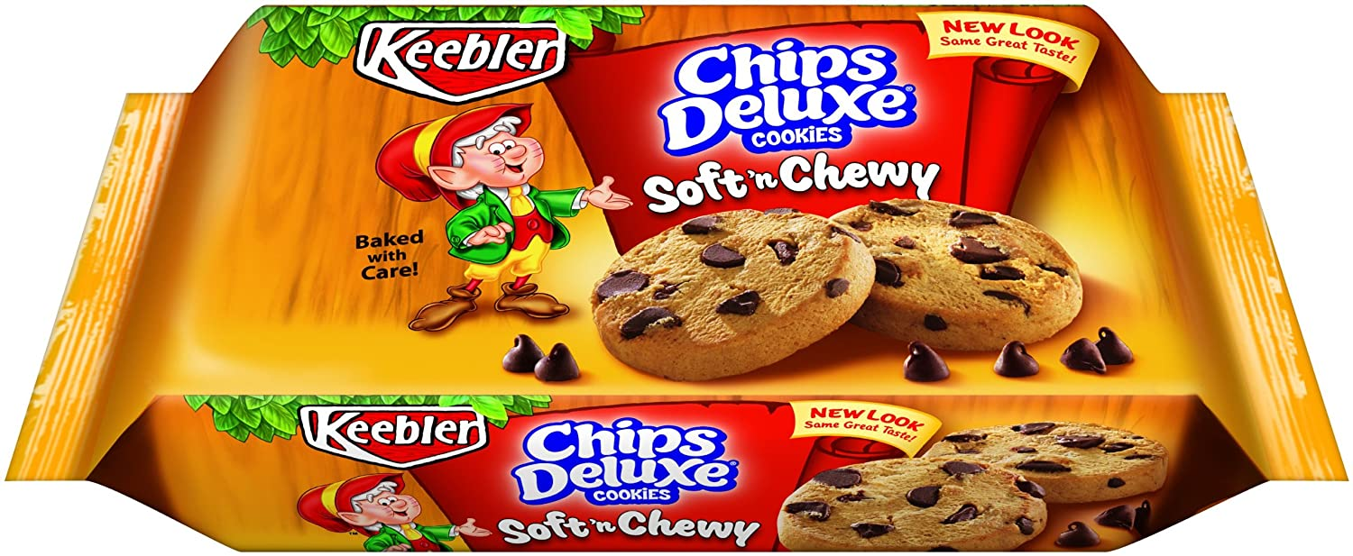 amazon com keebler soft n chewy chips deluxe cookies 14 8 ounce