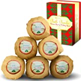 Premium Nature Bath Bombs Gift Set - 6 Organic Essentila Oil Handmade Spa Fizzies, With Cocoa & Shea Butter, Releives pain & Moisturizes Dry Skin by Premium Nature