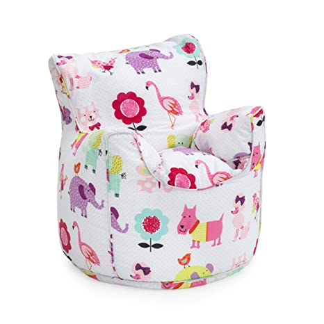 Ready Steady Bed/® Diggers Design Childrens Bean Bag