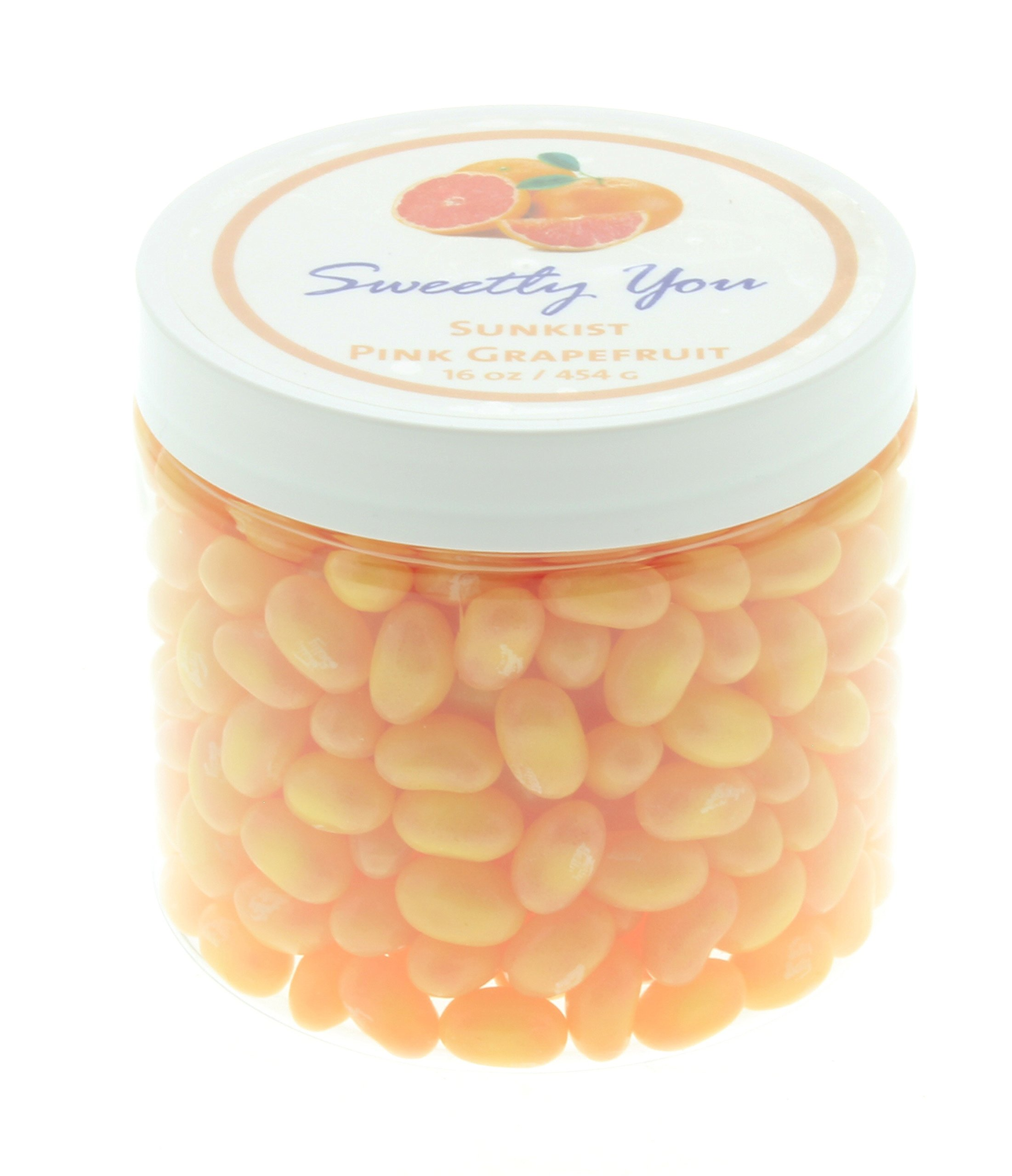 Jelly Belly 1 LB Pink Grapefruit Flavored