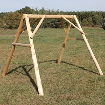 Amazon Com Lakeland Mills A Frame Porch Swing 4 Gliders