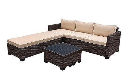 Marvelous Amazon Com Jeco W00503 Fs006 5 Piece Saint Helena Cjindustries Chair Design For Home Cjindustriesco