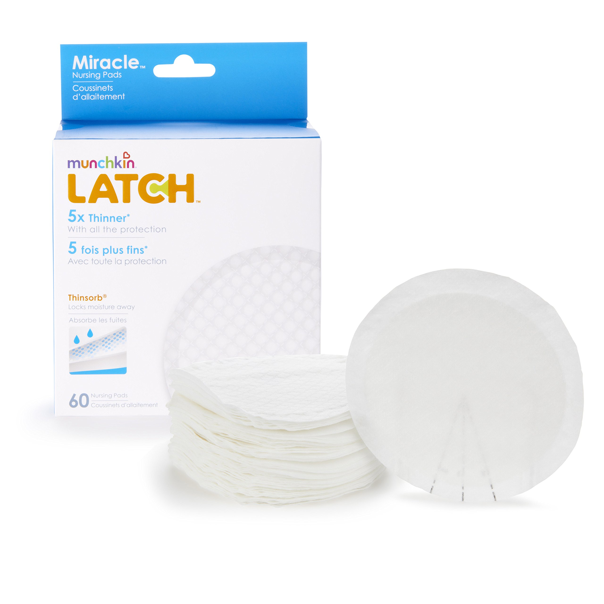 Munchkin Latch Miracle Nursing Pads by Munchkin