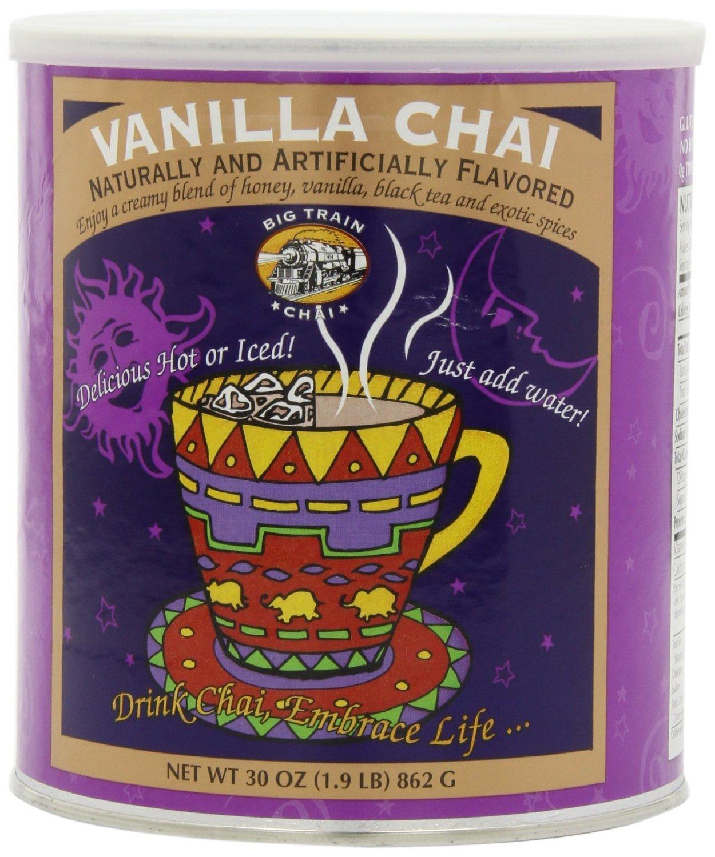 Big Train Chai Tea, Vanilla (2 can (1.9 pound each))