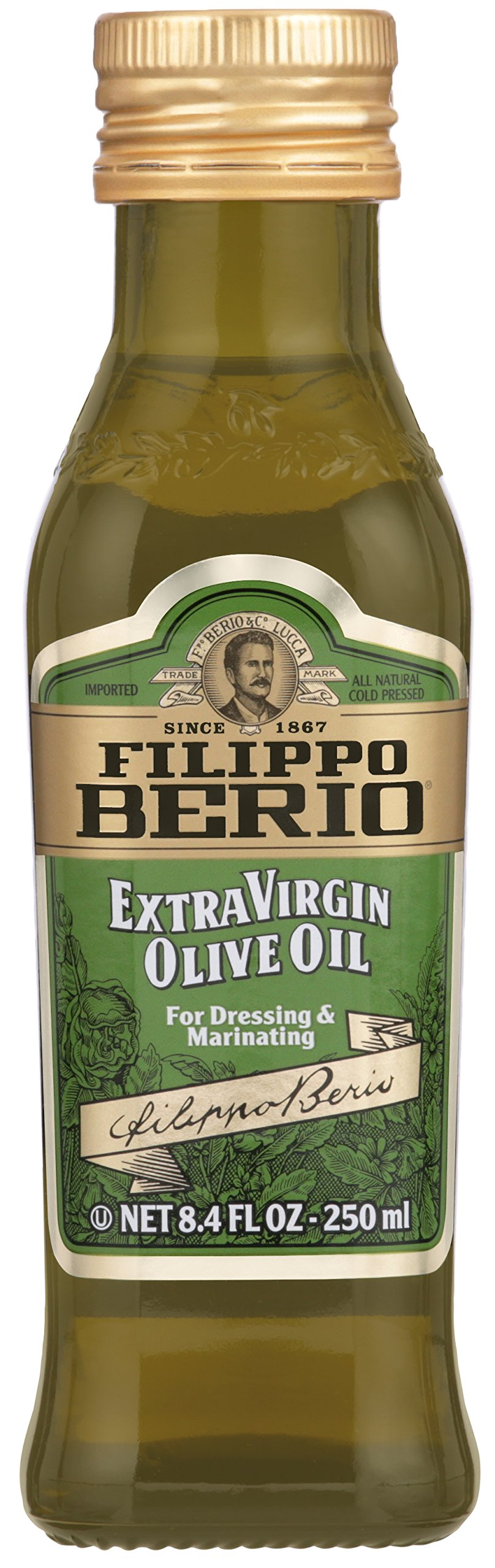 Filippo Berio Extra Virgin Olive Oil, 8.4 Ounce by Filippo Berio