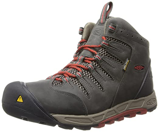 Men's Hiking Boots/KEEN Bryce Mid WP RavenBossa Nova