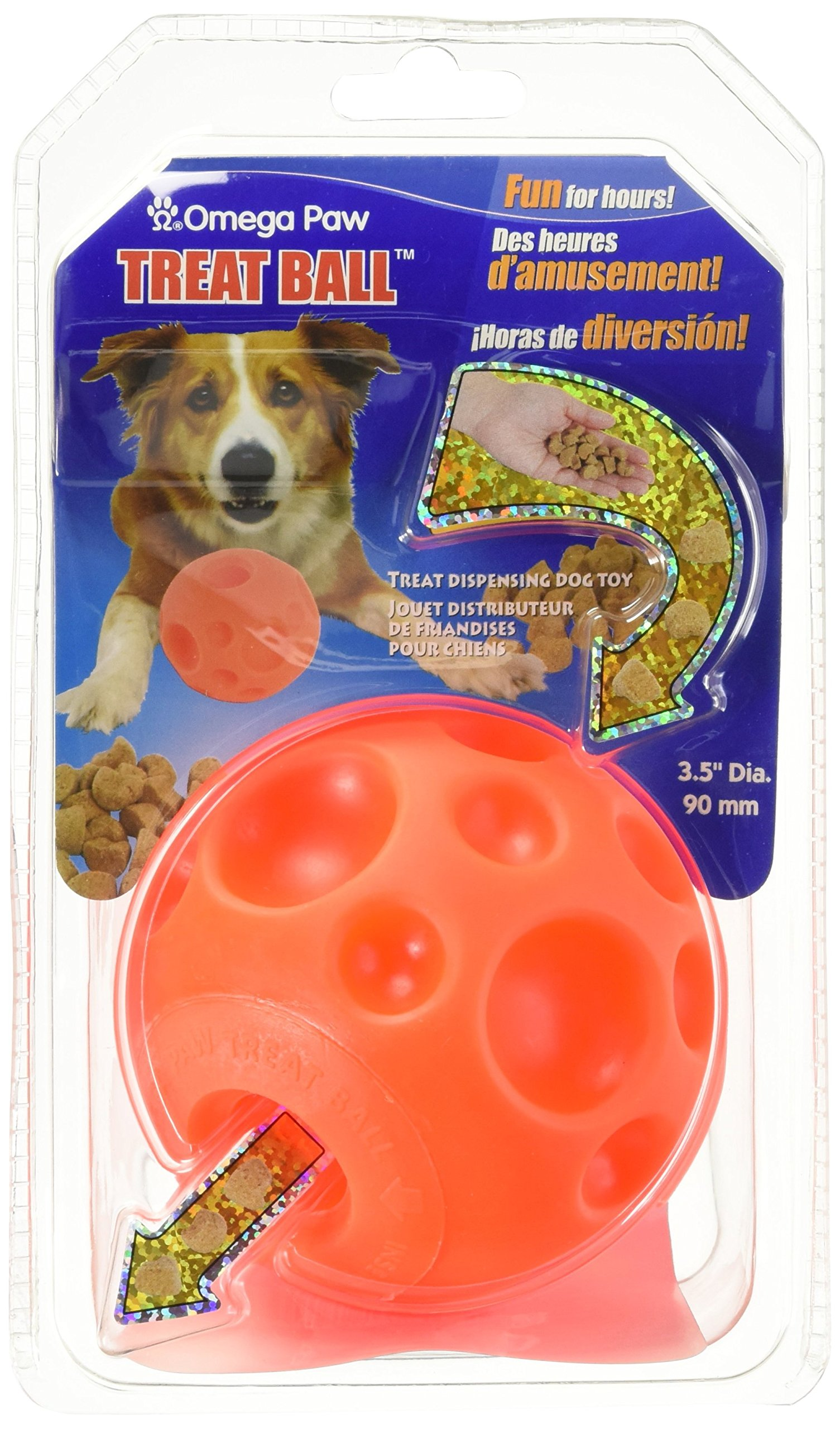 Omega Paw Tricky Treat Ball - Medium