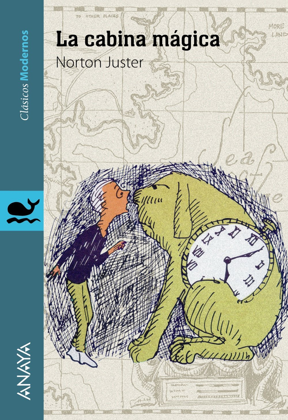 La cabina mágica Literatura Juvenil A Partir De 12 Años - Clásicos Modernos: Amazon.es: Norton Juster, Jules Feiffer, Alberto Jiménez Rioja: Libros