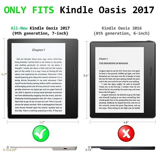 Forefront Cases Funda para Kindle Oasis 2017 - Estuche y Soporte ...