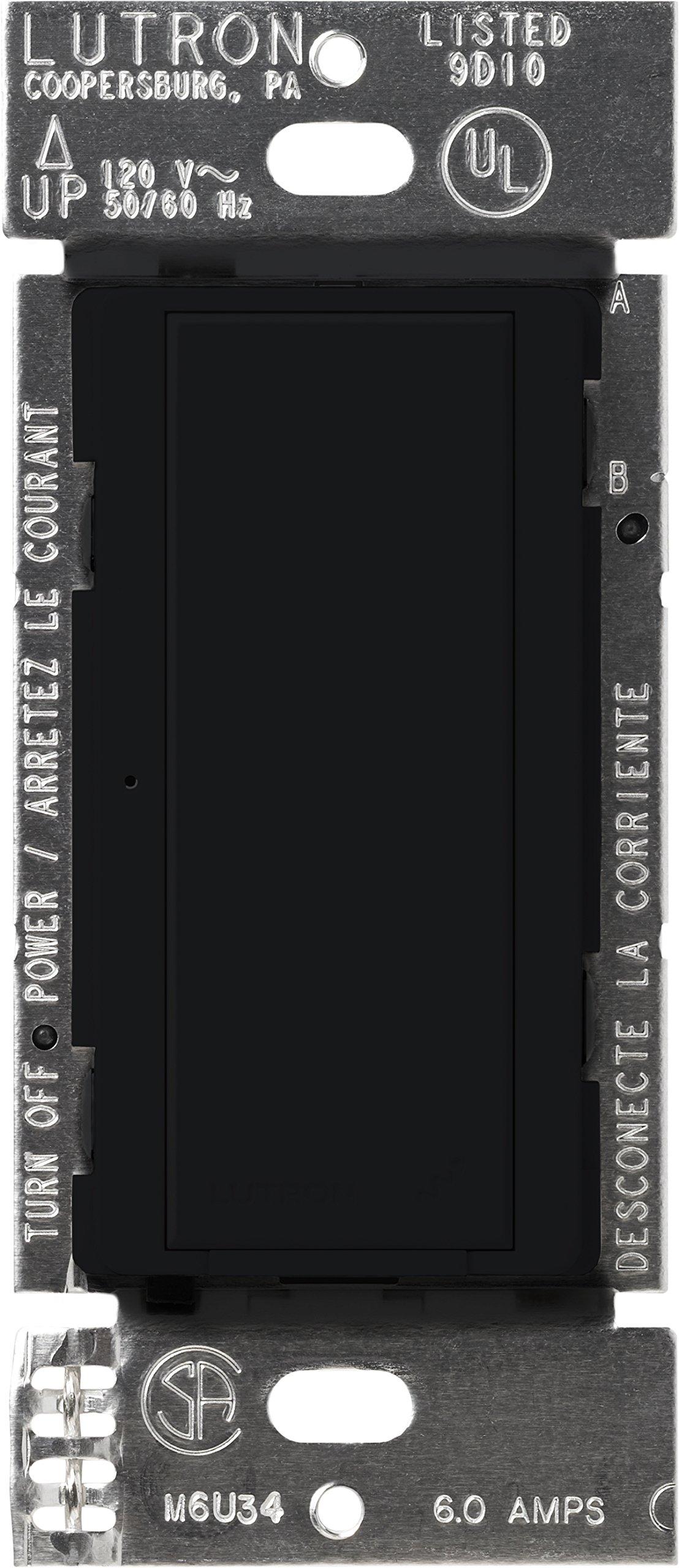 Lutron MRF2-6ANS-BL Maestro Wireless 6 Amp Multi-location Switch, Black