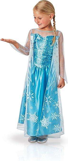 Rubies 620975-L - Disfraz de Elsa para niña, L (7-8 años): Amazon ...