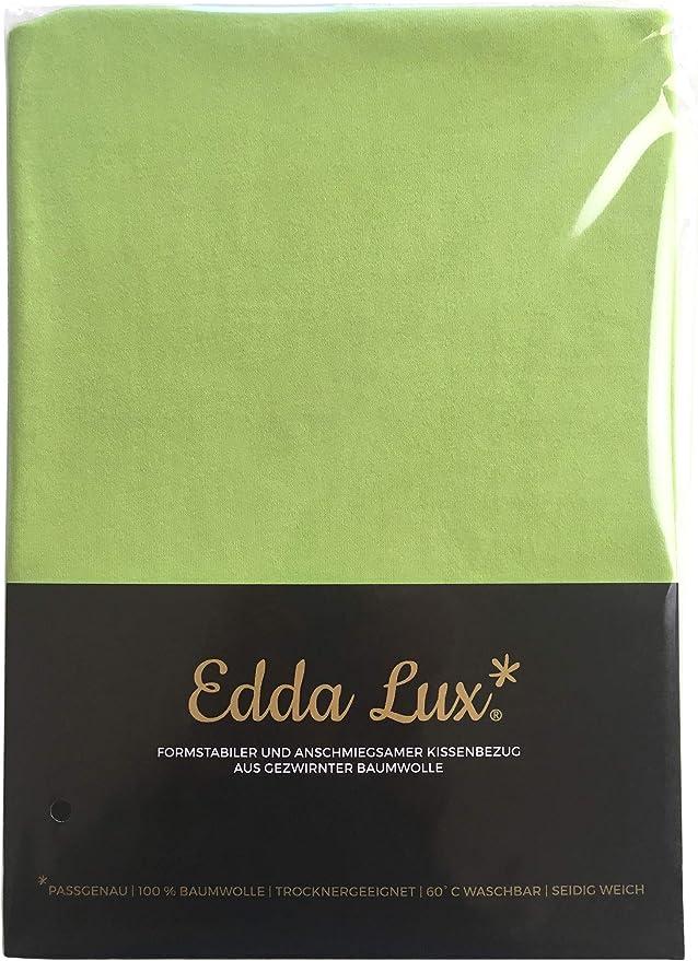 EddaLux 54 x 48 cm 100/% Cotone con Cerniera Lampo Naturale Disponibile in Diversi Colori Federa per Cuscino Tempur Ombracio