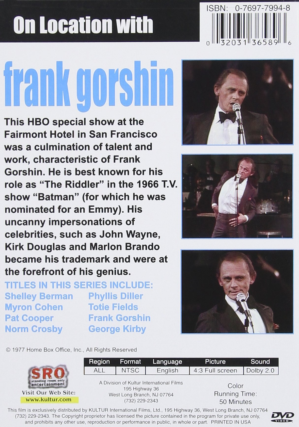 On Location with Frank Gorshin