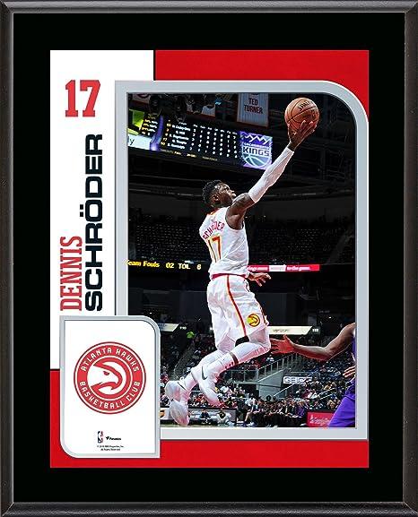 e946aaa3e Dennis Schroder Atlanta Hawks 10.5 quot  x 13 quot  Sublimated Player  Plaque - NBA Team Plaques