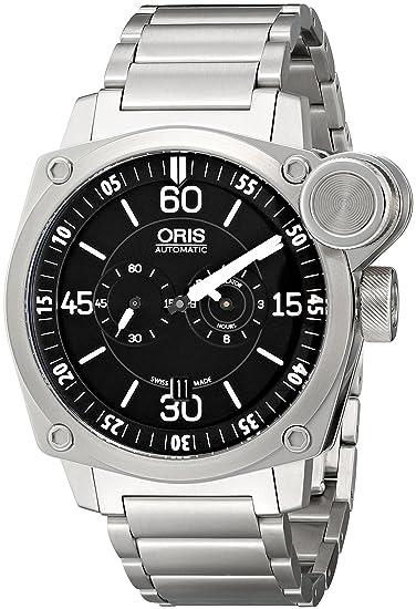 Oris hombre 74976324194 MB analógico automático para hombre plateado reloj: Oris: Amazon.es: Relojes