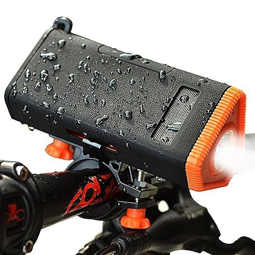 13 opinioni per KMASHI Wireless Bici Altoparlante V4.0 Impermeabile Doccia Speaker 4800mAh