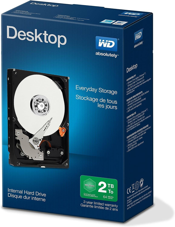 "-Open WDBH2D0010HNCNRSN Western Digital Desktop Mainstream 1 TB  SATA III 3.5/"""