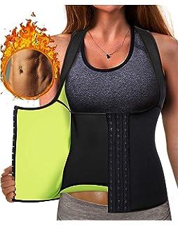 7d5e37f7d2d Gotoly Waist Trainer Corset Hot Neoprene Sweat Vest Weight Loss Body Shaper  Workout…