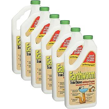 Amazon Com Earthworm Family Safe Drain Cleaner 32 Oz