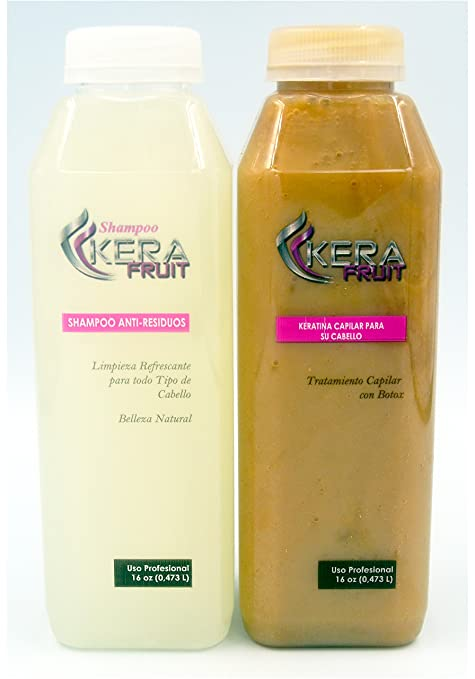 Keratina De Chocolate Con Botox Hair Treatment Brazilian 16 oz + Shampoo Usa Seller Fast Shipping