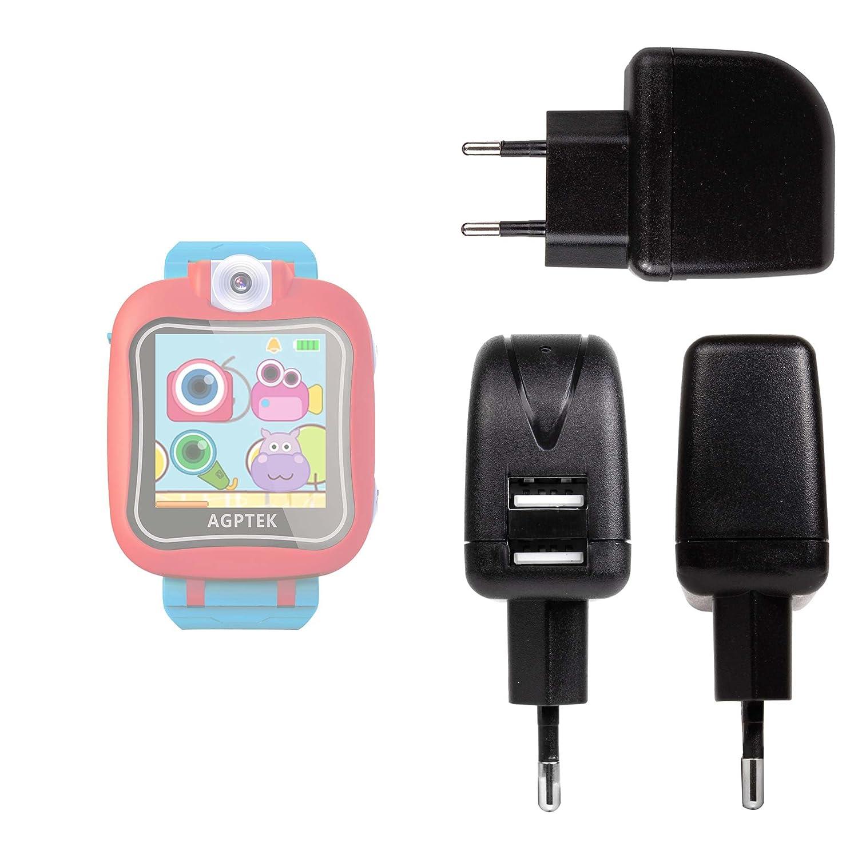 DURAGADGET Cargador Europeo para AGPtek Kids Smartwatch ...