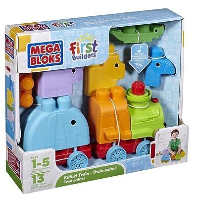 Mega Bloks First Builders - Animal Safari: Toys & Games