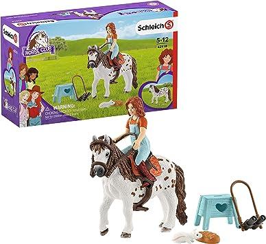 Schleich 42518 Horse Club - Juego de Mesa de Juguete para niños a Partir de 5 años: Amazon.es: Juguetes y juegos