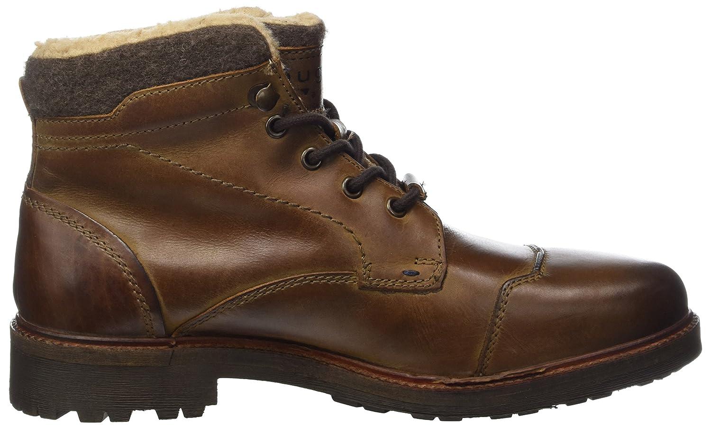 Mens 311379502200 Classic Boots, Brown Bugatti
