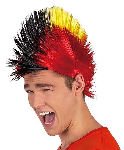 Boland 61902 - Adulto Peluca Punk Bélgica, tamaño de la unidad, multicolor