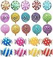 "HRAINDROP 21 pcs 18"" Sweet Candy Balloons, Round Lollipop Balloon Birthday Wedding Party Balloons"
