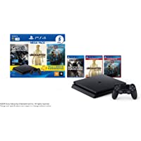 Console PlayStation 4 1TB Bundle Hits 7 - Call of Duty: Modern Warfare, Uncharted: The Nathan Drake Collection, God of…