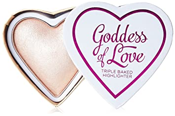 Buy Makeup Revolution I Heart Makeup Blushing Hearts Highlighter Goddess of Faith, 10g Online at Low Prices in India - Amazon.in