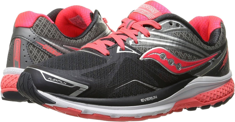Zapato de running para mujer Ride 9, gris / carb¨®n / combinado, 9 ...