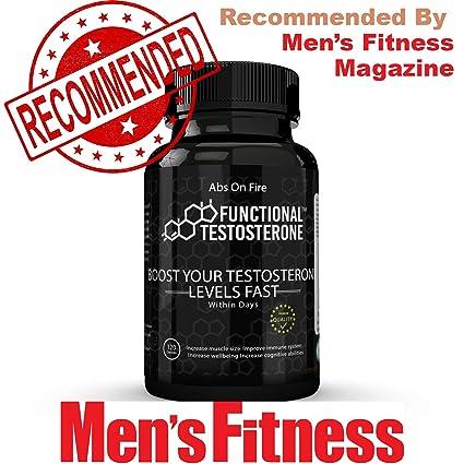 Potenciador de Testosterona Funcional con Suplemento Natural de Zinc Picolinato de ZMA Premium, Magnesio Puro, Polvo de Maca Orgánica, Ácido Aspártico D, ...