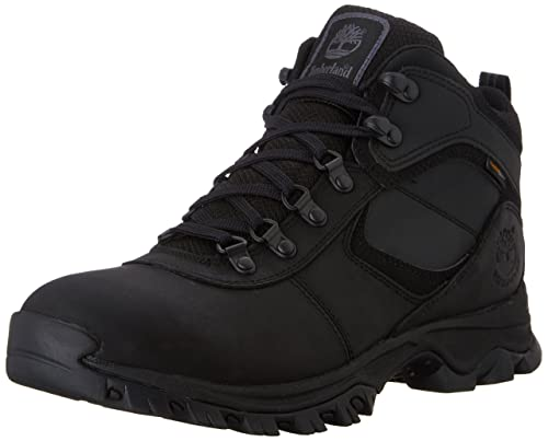 Timberland Men's Mt. Maddsen Mid WP Hiking Boot, Black, ...