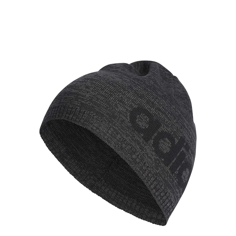 f741479895b03 adidas Daily Beanie hat  Black Grey   Amazon.co.uk  Clothing
