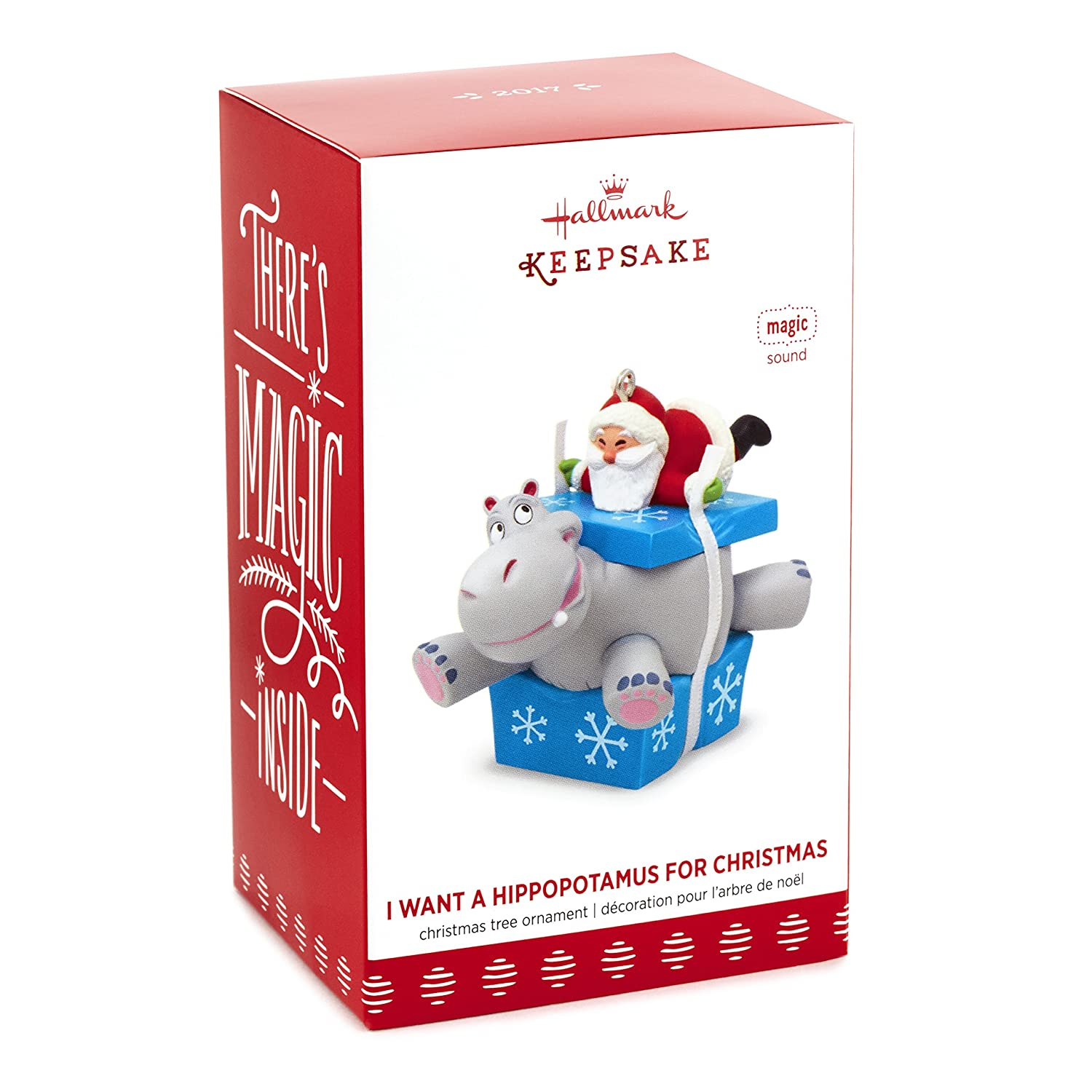 Amazon.com: I Want A Hippopotamus For Christmas Santa Musical ...