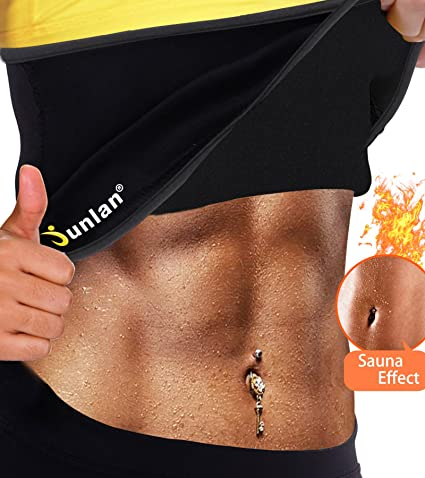 ca7954fede3 Waist Trimmer Weight Loss Ab Belt for Workout Sweat Enhancer Exercise  Adjustable Wrap for Stomach Sweet
